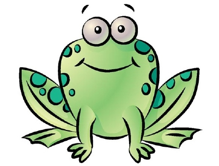 How to draw a frog - step 4