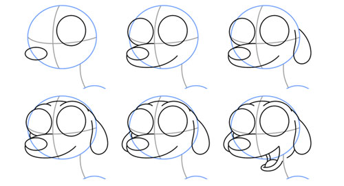 draw - How to draw a cute. Size:500x271