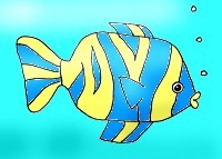 Learn to draw this fish