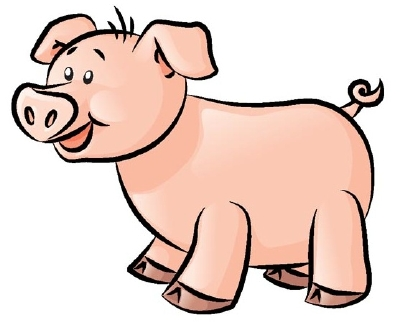 Learn to draw this pig
