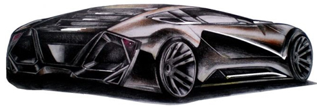 Learn to draw a Lambo
